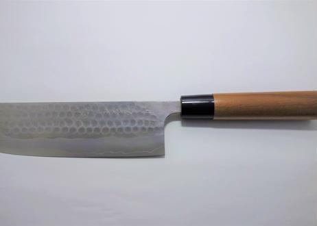 N0101 | 銀三 | 菜切梨地鎚目 | ウォルナット