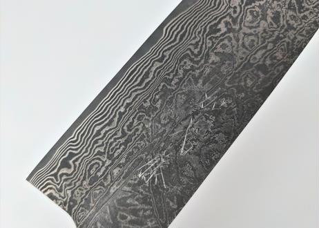 G3224   SPG2積層   牛刀210   黒染   紫檀八角柄