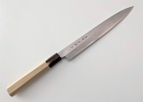C703 |  白紙積層 | 柳刃240 | 水牛+朴木