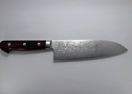 D324 鍔付三徳磨き(赤)