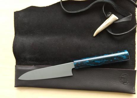 T0897 本革包丁ケース  牛刀/ペティナイフ用