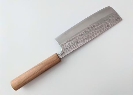 B410 | 青紙クラッド | 菜切 | 鎚目磨き