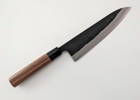 N0010   青紙   牛刀210   ウォルナット