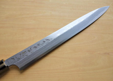 C915 柳刃300白紙積層