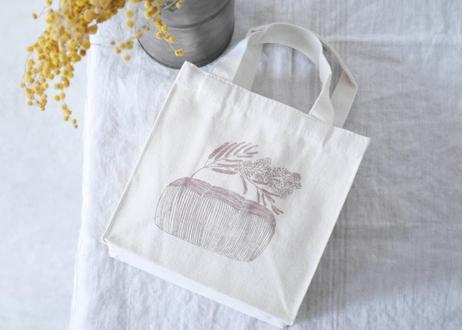 お昼休憩バッグ『食パンからミモザ』
