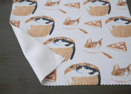 めがねクロス『お菓子と猫』