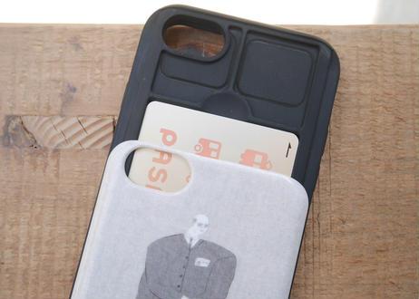 【iPhone6/6S/7/8/SE第2世代 共通】スライド式ケース『昭和時代を生き抜いたタクシー運転手』