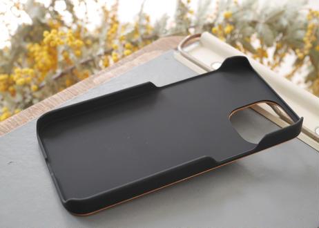 【iPhone 12mini】ウッドiPhoneケース『花』