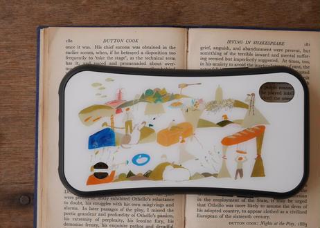 【オーダーした翌月中旬にお届け】iPhoneケース各種「シュールな食べ物の世界」