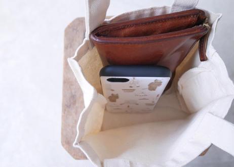 お昼休憩バッグ『クマとショートケーキ』