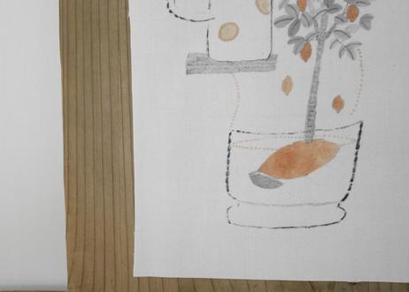 A4布ポスター『レモン入りのお冷は幸せ』