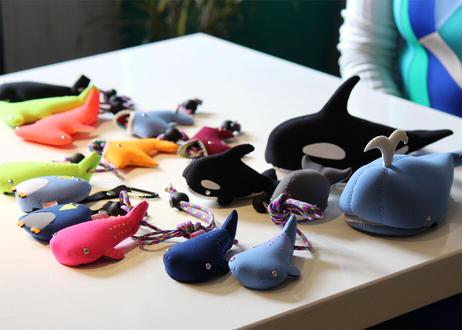 【KATE'S  FRIENDS(ケイツフレンズ)】メガネケース シャチ/クジラ(TG450311/TG450312)