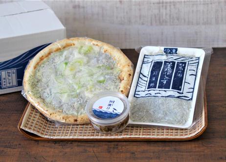 【浜野水産】湘南しらすづくしセット《とことこ暮らしオリジナル》(商品コード:TF210352)