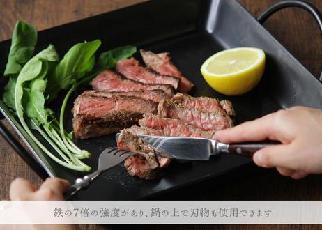 ナウ産業「Tetsu Pan 」  錆びない鉄製フライパン 綾瀬ものづくり研究会(商品コード:TG400369)