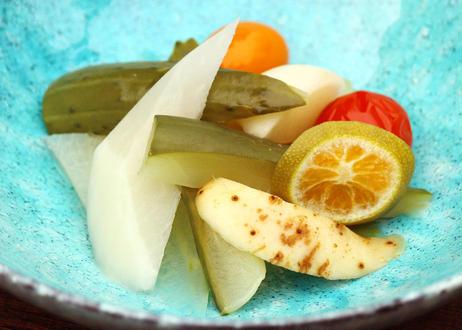 【 なんどき牧場 】《冷蔵》「ミックスピクルスと野菜ソースの湘南グルメセット」化粧箱入り (商品コード:TF310098)