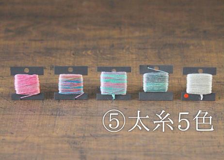 糸工房もくもく 手染めシルク糸 選りすぐりセット(商品コード:TG140040)