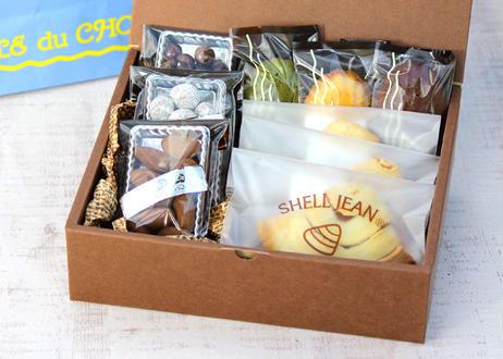 【お歳暮】<送料無料>ILE du CHOCOLAT(イル・ド・ショコラ)「創作焼き菓子チョコセット」(商品コード:TF290291)