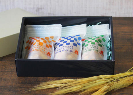 湘南藤沢小麦使用「湘南ラスク倶楽部」3種詰め合わせ(商品コード:TF380204)