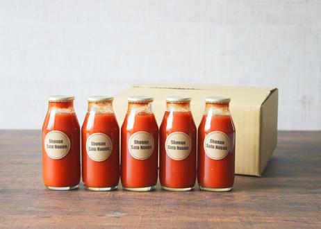 高糖度 果汁100%完熟フルーツトマトジュース(180ml) 5本セット(商品コード:TF100036)