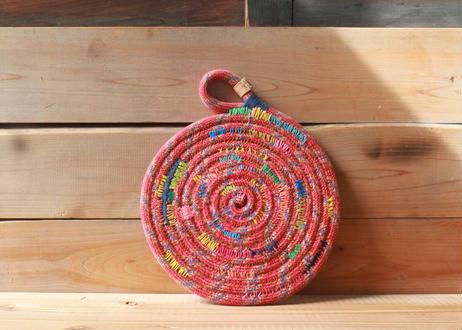 【Arts and Climbs】Climbing rope pot mat