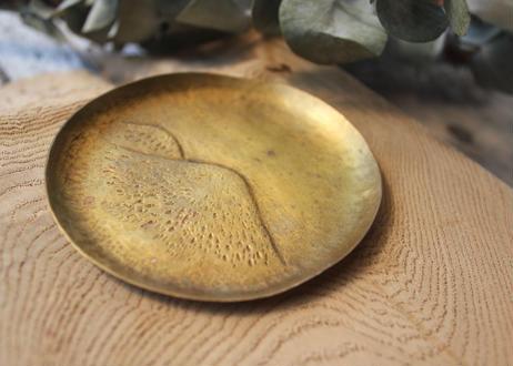 【Ery】山並み真鍮打出し丸皿