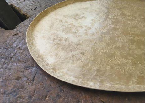 【Ery】brass obal plate <真鍮楕円皿>