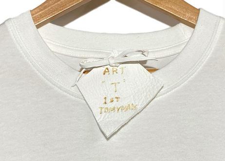 """art """"T"""" shirt       (apple /white)"""
