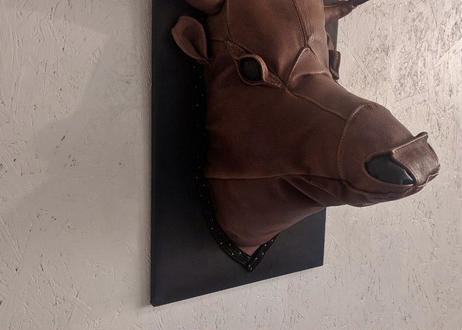 """LEATHER'S """"COW"""" OBJECT"""