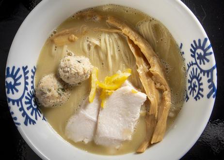純鶏そば(濃厚鶏白湯塩味)×1食