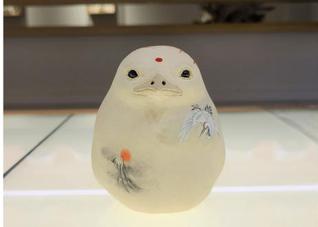 七代渋草柳造/Shibukusa Ryuzo Pottery    -摩利支天-