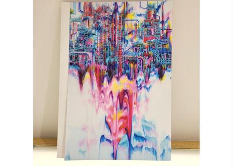 藤嶋咲子/Sacco Fujishima 作品集    Unstoppable Unfolding