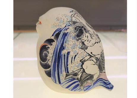 七代渋草柳造/Shibukusa Ryuzo Pottery    -鬼若力之助-