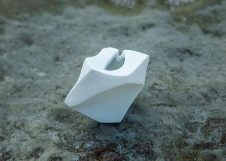 磯部ひろみ 小さなオブジェ 岩 #003   hiromiisobe tiny flower vase rock #003