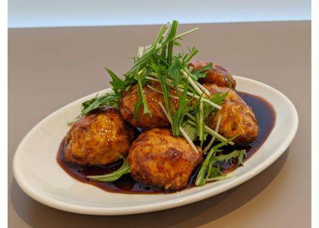【nee-mart県庁前店】鶏と豆腐のハンバーグ 照り焼きソース6個入り(冷凍)