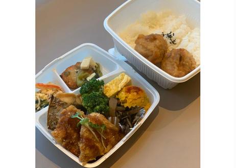 【nee-mart県庁前店】日替わりお弁当(Wメイン)