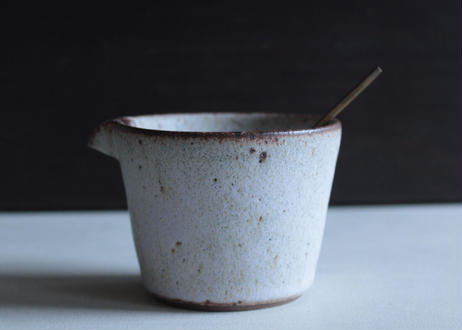 鉄粉のある器 片口 小鉢 ミルクピッチャー 陶器