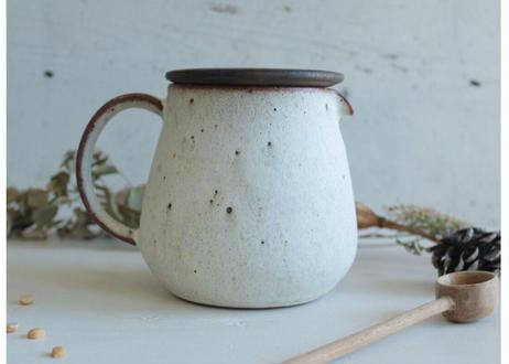鉄粉のあるティーポット・サーバー 静かで豊かな時間 陶器
