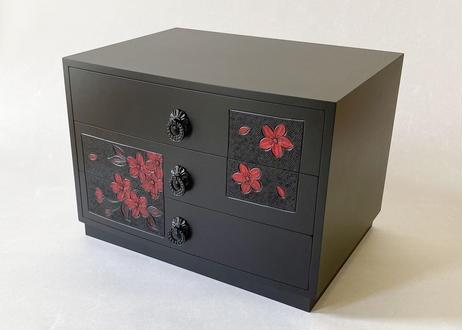 A4胴張三段引出【桜】黒赤