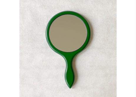 姫鏡【梅】緑 深彫