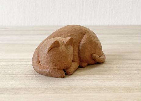 眠り猫 [台座付き] 1