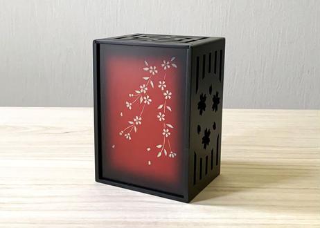 芳香剤カバー【桜】赤