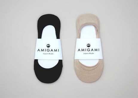 <AMIGAMI> 美濃和紙パンプスカバーソックス