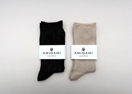 <AMIGAMI> 美濃和紙ラメソックス