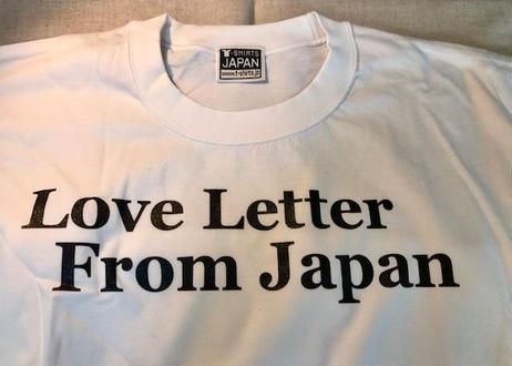 Love Letter From Japan【日本国製プレミアム】白
