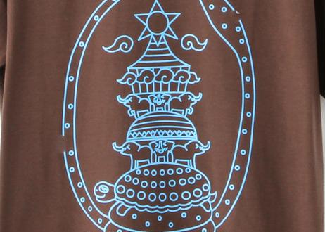 古代インド人が考えた宇宙 ブラウン