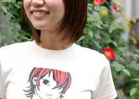 スギザキメグミTシャツ ROCK ME! ナチュラル
