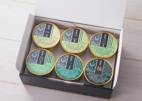 つばめあいす お抹茶6種セット