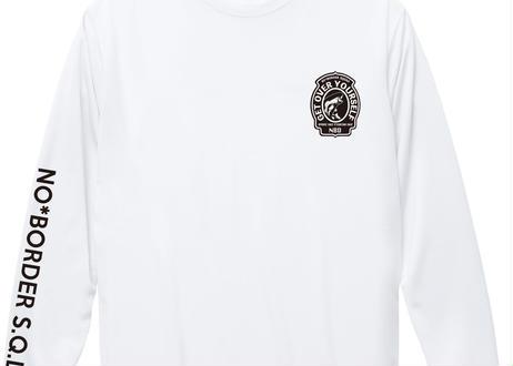 UVカットDRYロンT - WHITE