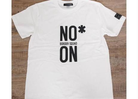 NO/ON  Tee #white