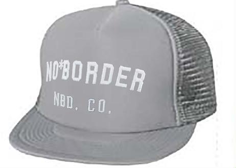 フラット MESH 刺繍 CAP